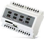 Satel INT-ORS DIN sínre szerelhető kimenetbővítő modul SATEL rendszerekhez, 8 relé kimenet (230 V)
