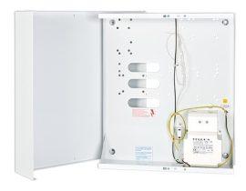 Satel OMI-4 Fém doboz, transzformátorral, INT64, INT128 és INT256 plus központokhoz, 17 Ah akkumulátorhely