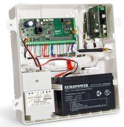 Satel OPU-4 PW Műanyag doboz alaplapokhoz, bővítőkhöz és GSM kommunikátorokhoz, süllyesztett, 322x342x100 mm