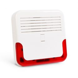 Satel SD-6000 R Kültéri, akkumulátoros hang- és fényjelző, ultrafényes LED-ek, dinamikus kürt, műanyag burkolat